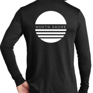 NORTH SHORE VIBE LONG-SLEEVE TEE BLACK