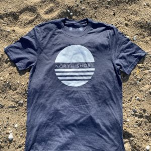 North Shore Vibe Tee - Blue